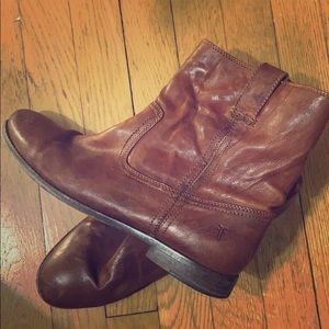 Frye Anna Shortie booties boots
